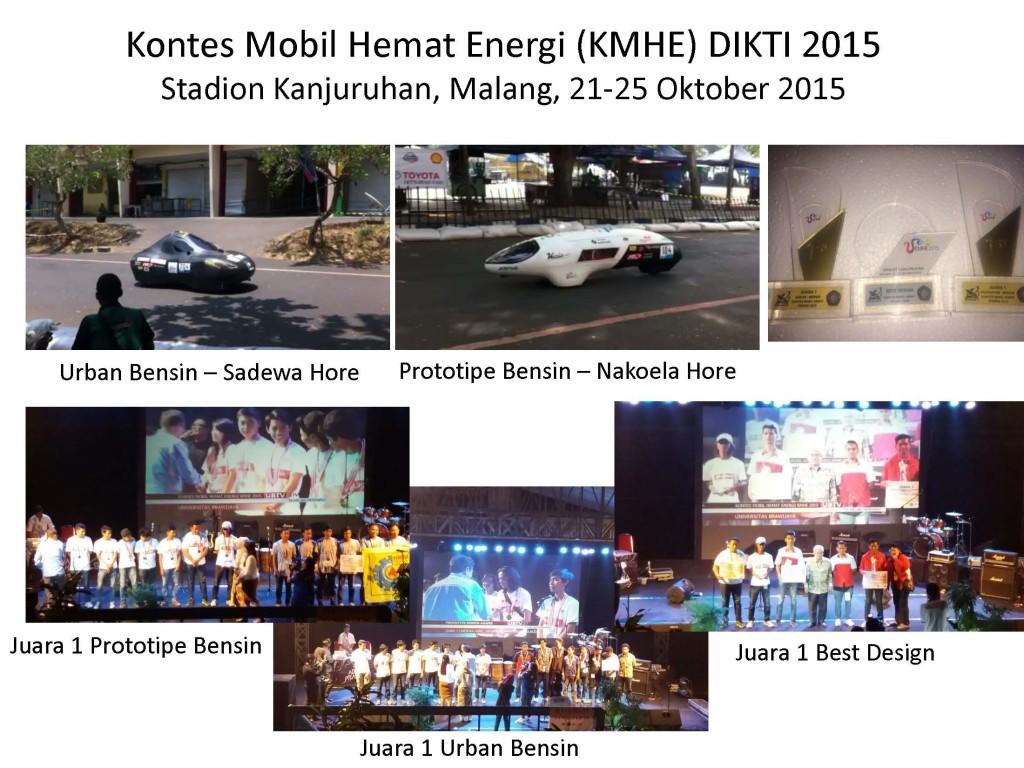 Kontes Mobil Hemat Energi (KMHE) DIKTI
